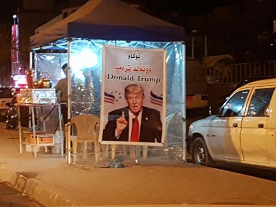 ماذا يفعل ترامب في العراق؟