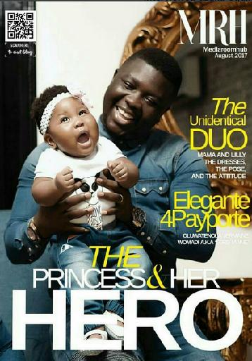 SEYI%2BMEDIA%2BROOM%2BHUB Cuteness: Seyi Law & Daughter Cover August Edition Of MediaRoomHub Magazine Entertainment