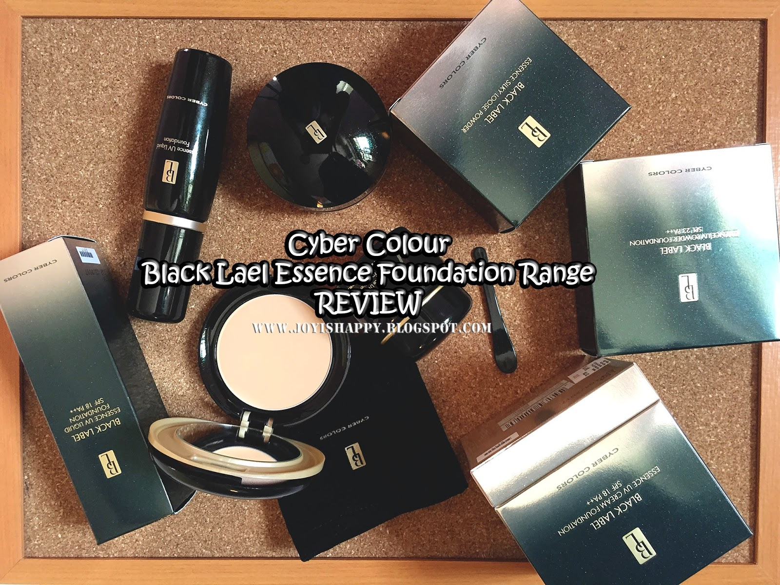 Cyber Colors Black Label Foundation Series review