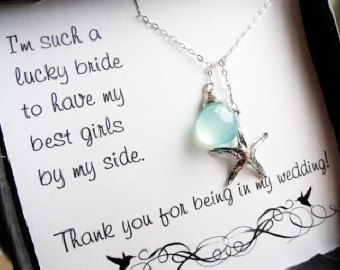 Bridesmaid Gifts For Beach Wedding