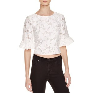Rebecca Minkoff's Isabella Lace Crop Top
