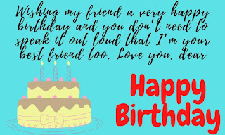 words for birthday wishes for friend