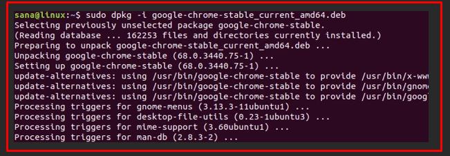 cara pasang google chrome ubuntu