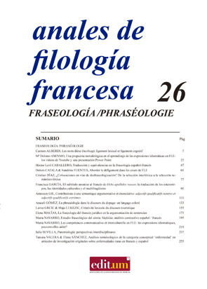 Anales de Filología Francesa