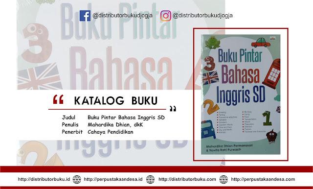 Buku Pintar Bahasa Inggris SD
