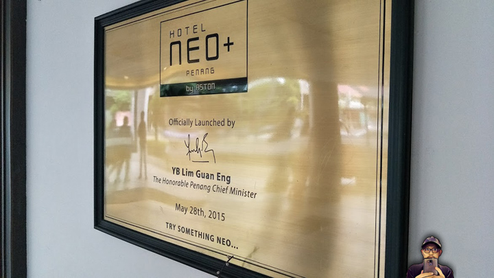 Review Penginapan Hotel Neo Plus by Aston, Penang Malaysia