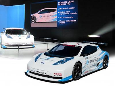 Sports Car 2012 Nissan Sport Cars Nissan Leaf Nismo Rc Concept