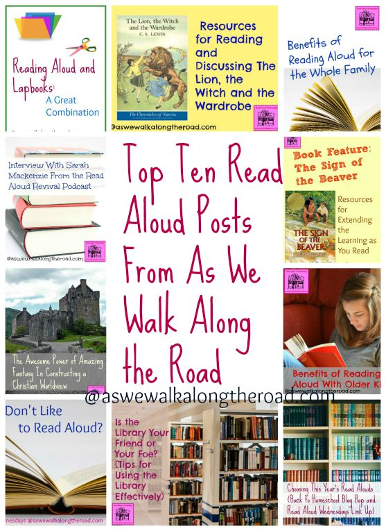 Top ten posts about reading aloud