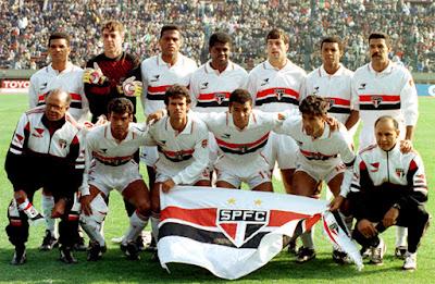 São Paulo venceu o Barcelona por 2 a 1. Foto: Divulgação/Site Oficial