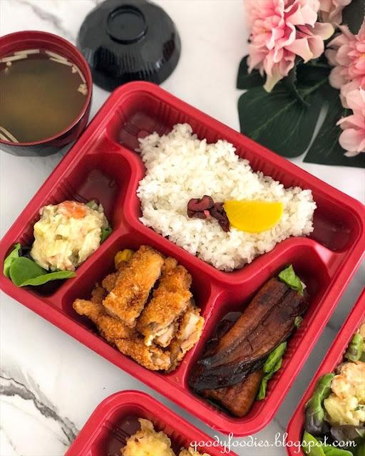Hanare Japanese Restaurant KL bento box