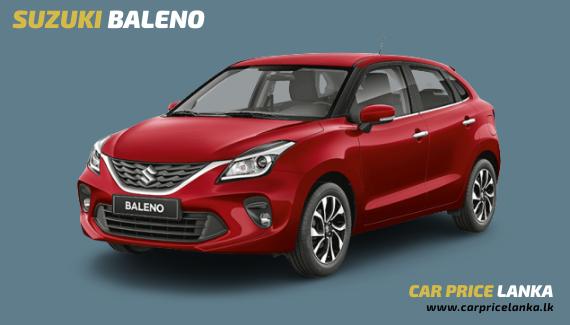 Suzuki Baleno car price in Sri Lanka