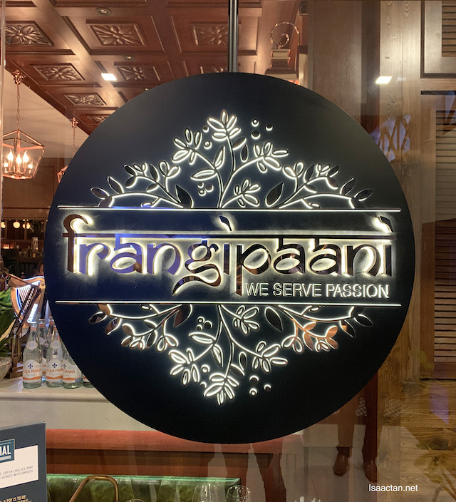 Lovely logo.. Frangipaani, We serve passion..