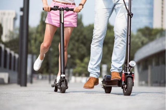 How to open an electric scooter rental