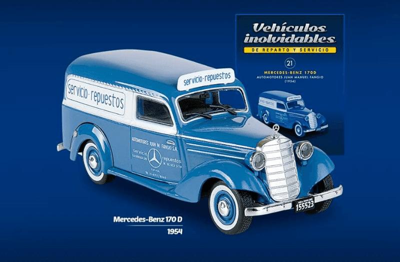mercedes benz 170 d 1954 Automotores Juan Manuel Fangio