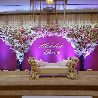كوشة زفاف - مكتب ديزاينو لتنظيم وإدارة الحفلات والأعراس