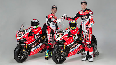 Παρουσίαση Aruba.it Racing – Ducati WSBK