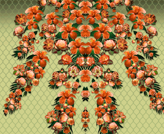 Flower-print-textile-pattern