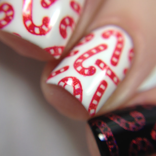 What's Up Nails-Red All Over