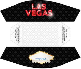 Para Hot Dogs = Perros Calientes de Fiesta de Las Vegas.