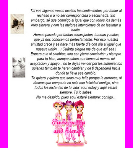 Carta A Una Amiga Especial Frases De Amor Pensamientos Y Reflexiones