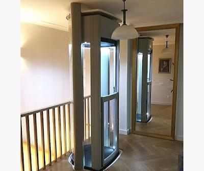 Mała winda do domu jednorodzinnego