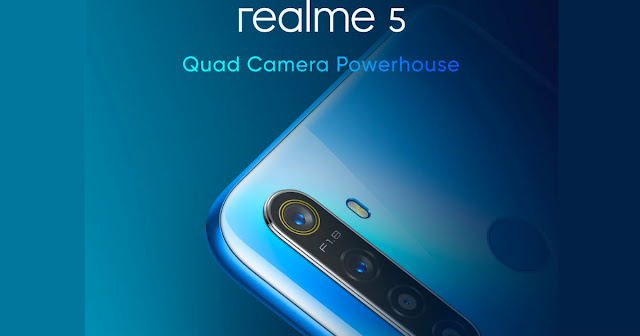 Reality 5 Pro has four rear cameras  The primary camera is 48 megapixels. It comes with phase detection auto focus and f / 1.8 aperture. It has an 8 megapixel sensor with F / 2.25 aperture. It also has a 119 degree wide-angle lens. The quad camera setup also has a 2-megapixel macro lens and a 2-megapixel portrait lens. Electronic image stabilization is also a part of this phone.