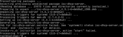 "Cara Konfigurasi DHCP Server di Linux Debian 8 ""Jessie"""