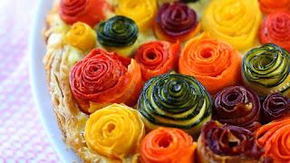 Съедобные розы - красивый и вкусный декор
