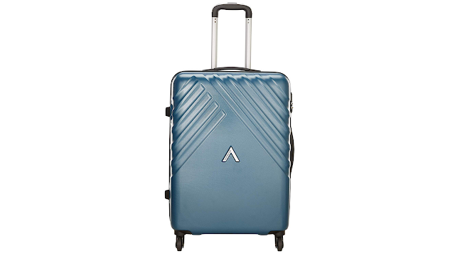 Aristocrat Polycarbonate 55 cms Blue Hardsided Cabin Luggage (SIENNA)