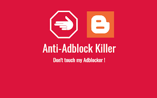How to Add Anti Adblock Script in Blogger with Pictures