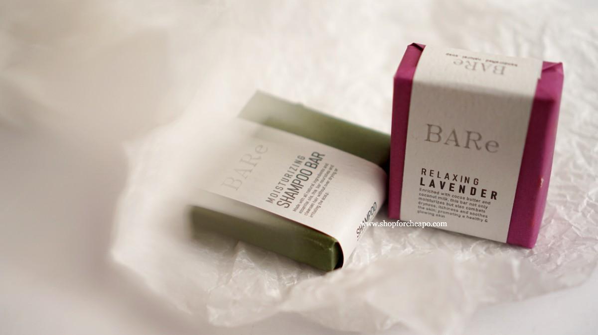 kemasan luar soap bare menggunakan kertas