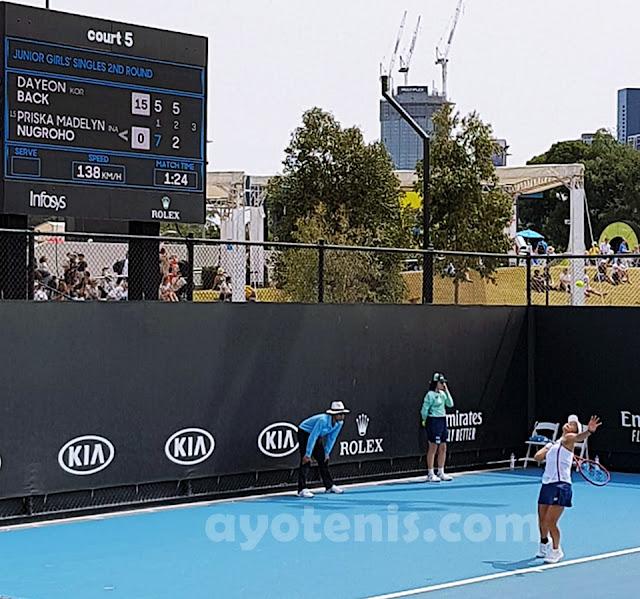 Australian Open: Lewat Duel Menegangkan, Priska Singkirkan Petenis Korea Selatan dan Melaju ke Putaran 3