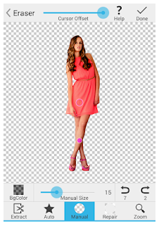 Perfect tool for background remove