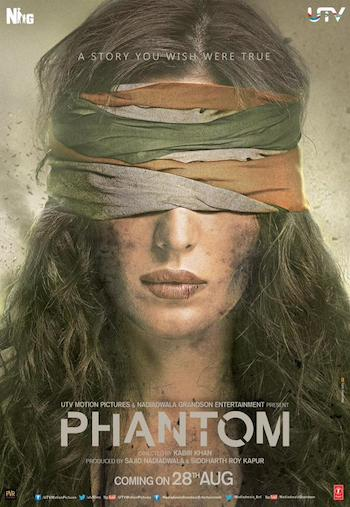Phantom 2015 Hindi DVDScr 480p 330mb Audio Cleaned