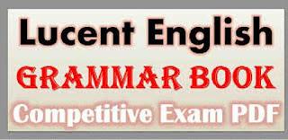 Competitive Exam English Grammar PDF