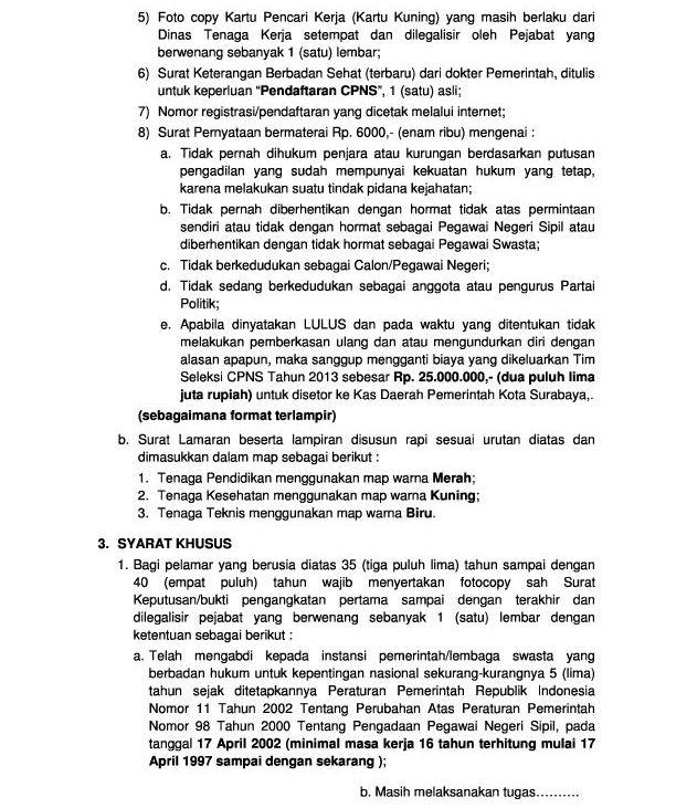 Cpns 2013 Untuk Denpasar Program Latihan Cat Cpns 2016 Soal Jawab Dan Pembahasan Cpns 2013 Pemkot Surabaya 375 Formasi Lowongan Kerja Cpns Dan