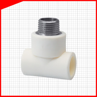 Harga fitting pipa ppr westpex Reducer Tee Tread Male