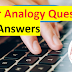 50 Letter Analogy Questions with Answers for SSC MTS