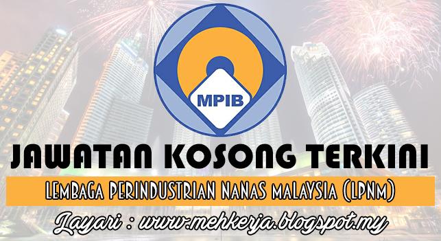 Jawatan Kosong Terkini 2016 di Lembaga Perindustrian Nanas Malaysia (LPNM)