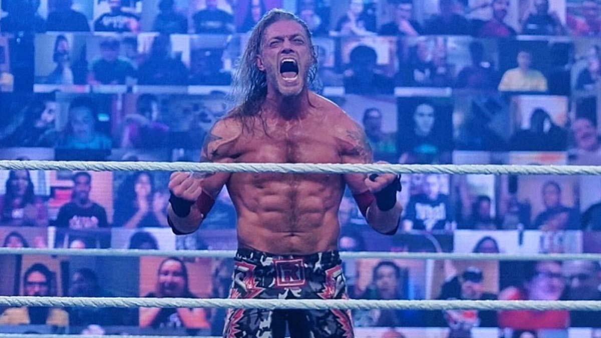 Edge comenta sobre as críticas após sua vitória no Royal Rumble