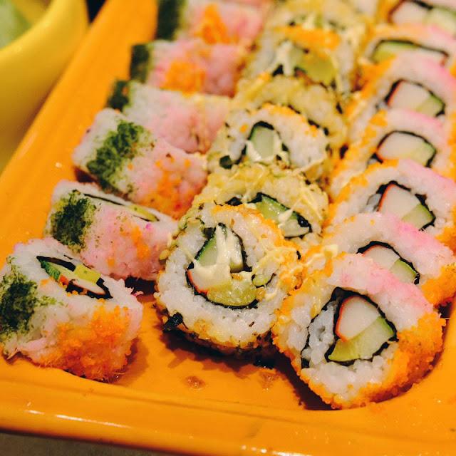 Sushi at Hotel Jen Tanglin