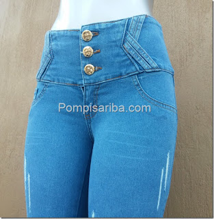 Pantalones de mezclilla a la moda para dama fabricas de pantalon baratos