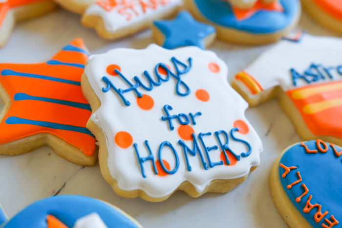Houston Astros Cookies ♥ bakeat350.net : Tony Kemp, Hugs for Homers