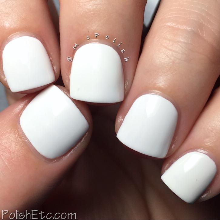 Kiara Sky Nail Lacquer - McPolish - Pure White