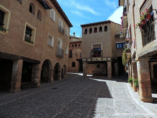 Plaza Mayor de Alquézar
