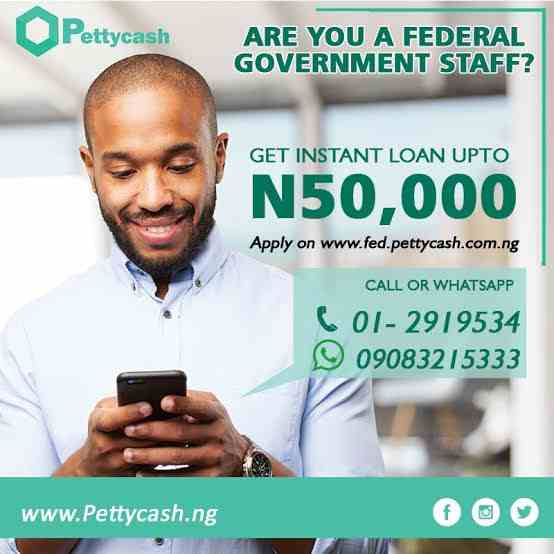 Pettycash Loan | How to Apply for up to N5million