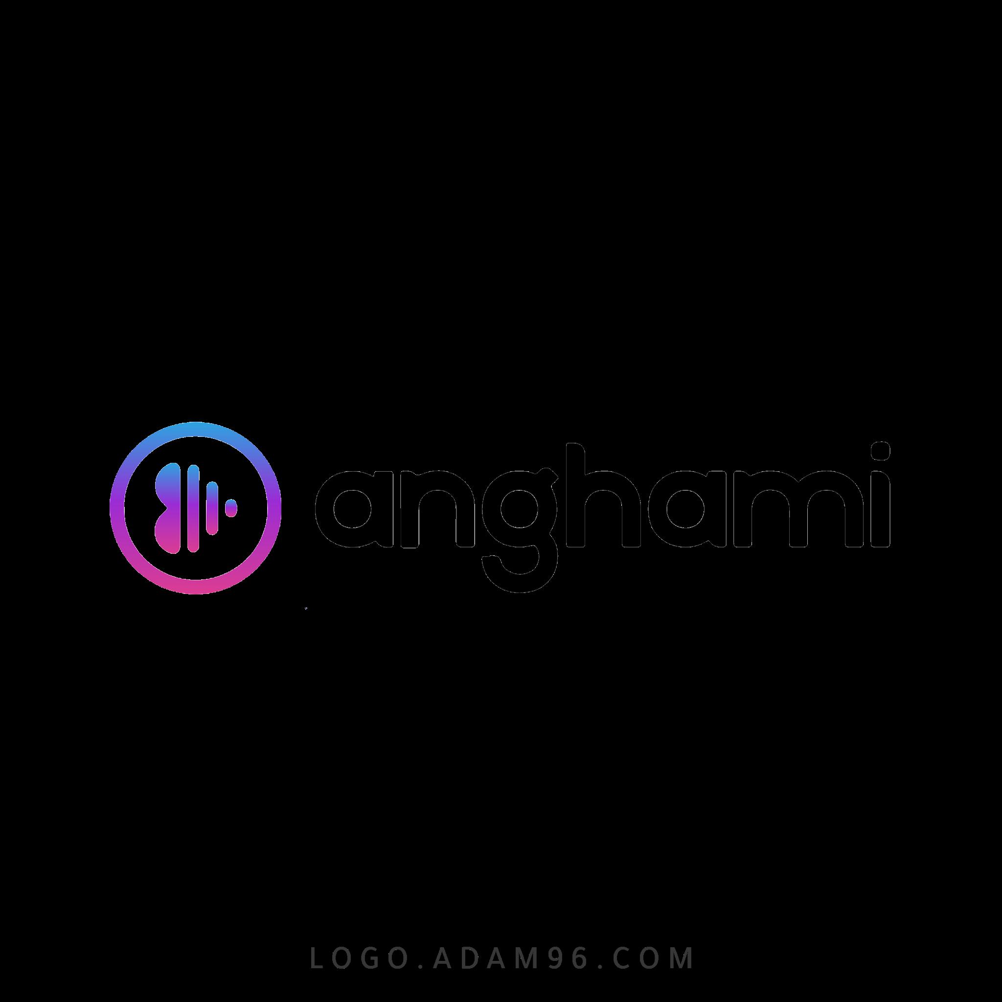 تحميل شعار موقع أنغامي لوجو رسمي عالي الدقة Logo Anghami PNG