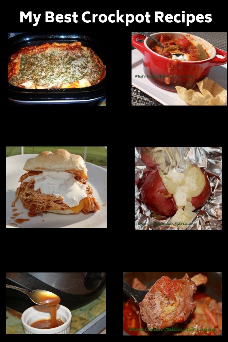 This is a great round up of Slow cooker recipes and how to make easy meals in a crock pot.