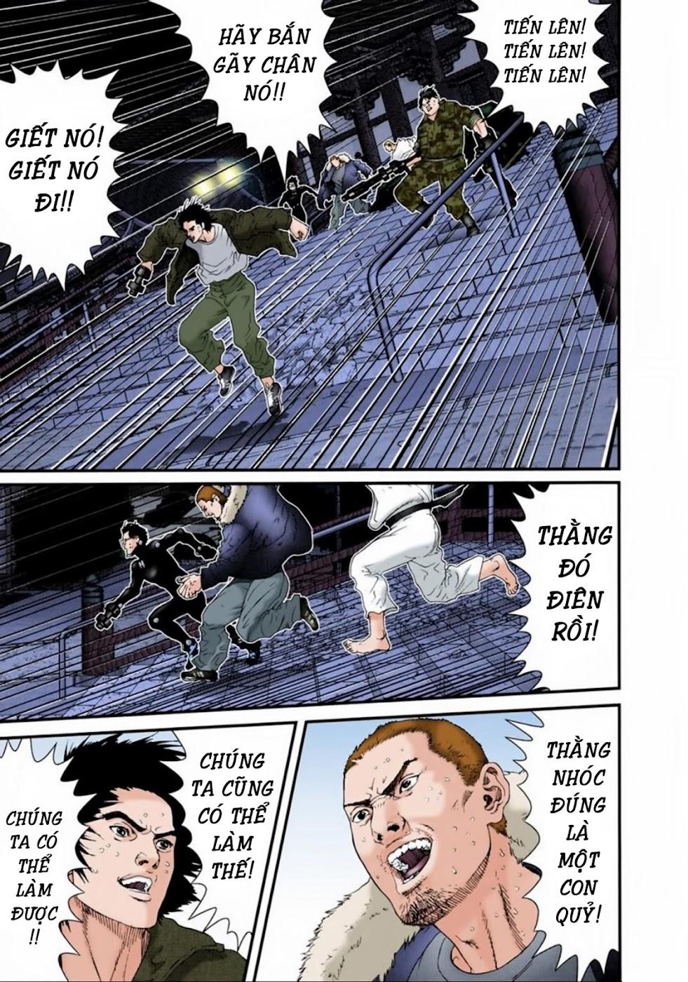 Gantz Chap 66: Chiến trường hỗn loạn trang 5