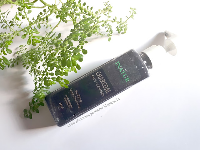 Inatur Charcoal Face Cleanser review